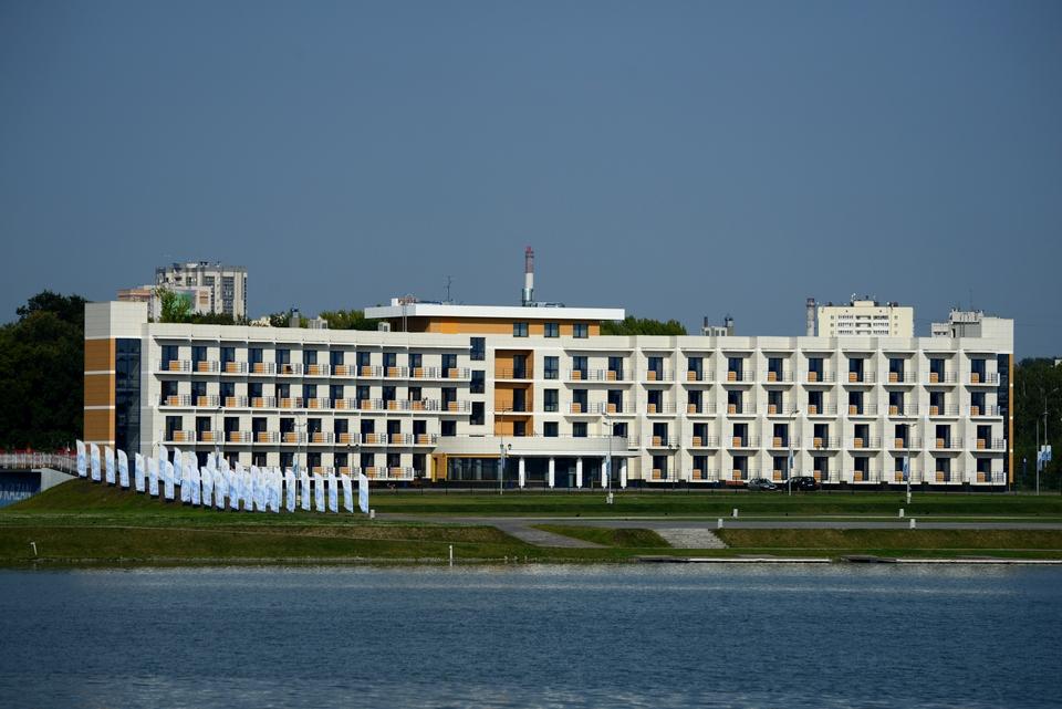 Общежитие  центра гвс «Регата»